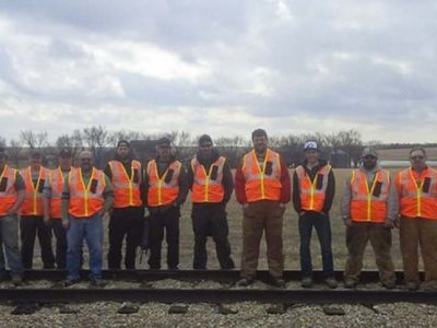 Staff of Great Sandhills Railway