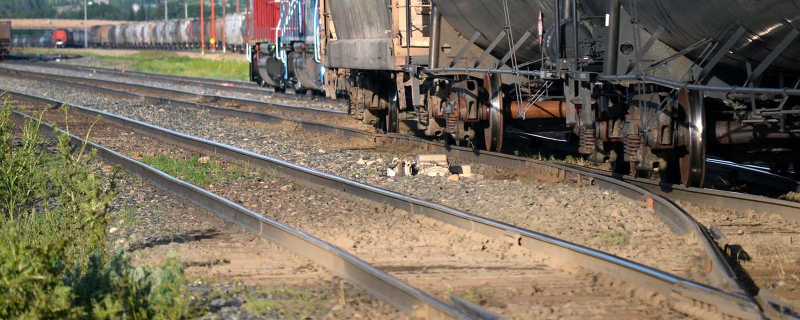 Great Sandhills Railway tracks