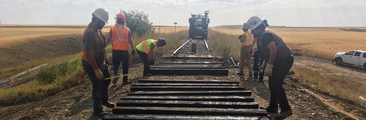 Great Sandhills Railway Crossing Repairs